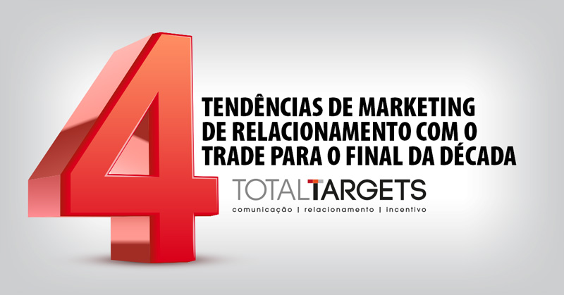 4 tendências de marketing de relacionamento com o trade para o final da década